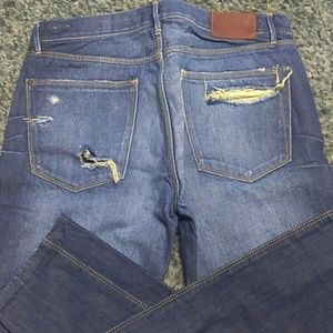 Madewell Jeans - Madewell Skinny Low Jeans Size 27 Destroyed